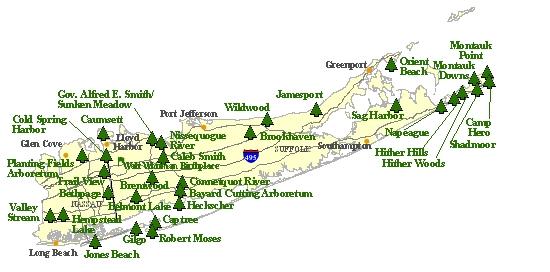 Long Island Parks Parks On Long Island Ny